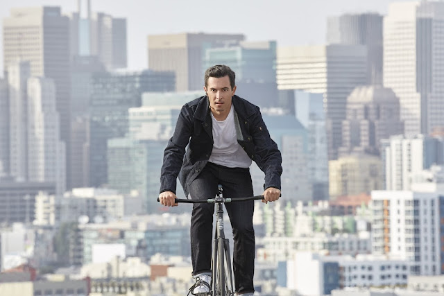 Google, Levi´s, Levi's Commuter x Jacquard by Google Trucker Jacket, lifestyle, Suits and Shirts, Denim, jacket, bike, bicycle, sportwear, connectivity,