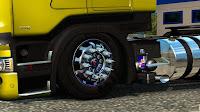 ETS2 Pneu - Rodas Exclusivas Scania Para V.1.28.X By: Frank Brasil