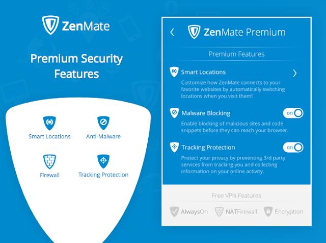 شرح + تحميل اضافة زين مات للفايرفوكس ZenMate Security & Privacy VPN 5.4.8