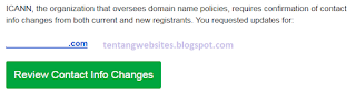 Cara memindah domain godaddy ke akun lain