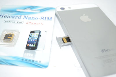 iPhone 5 bản lock dùng sim ghép