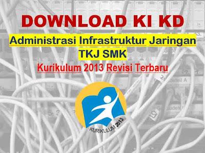 KI KD Administrasi Infrastruktur Jaringan SMK TKJ K13 Revisi