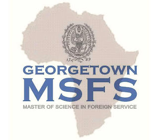 Master of Science in Foreign Service (MSFS) at Georgetown University for Student from sub-Saharan Africa.