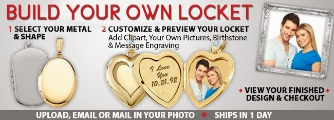 Enter to win the Build Your Own Locket Giveaway. Ends 2/14