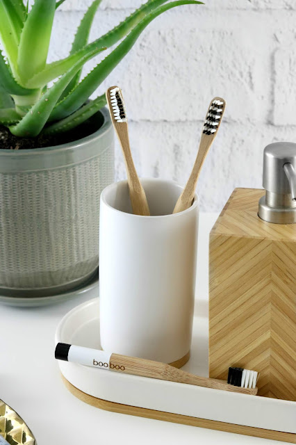 Plastic Free Bathroom Swaps - Plastic Free Toothbrushes - BooBoo Bamboo Toothbrush Subscription Australia
