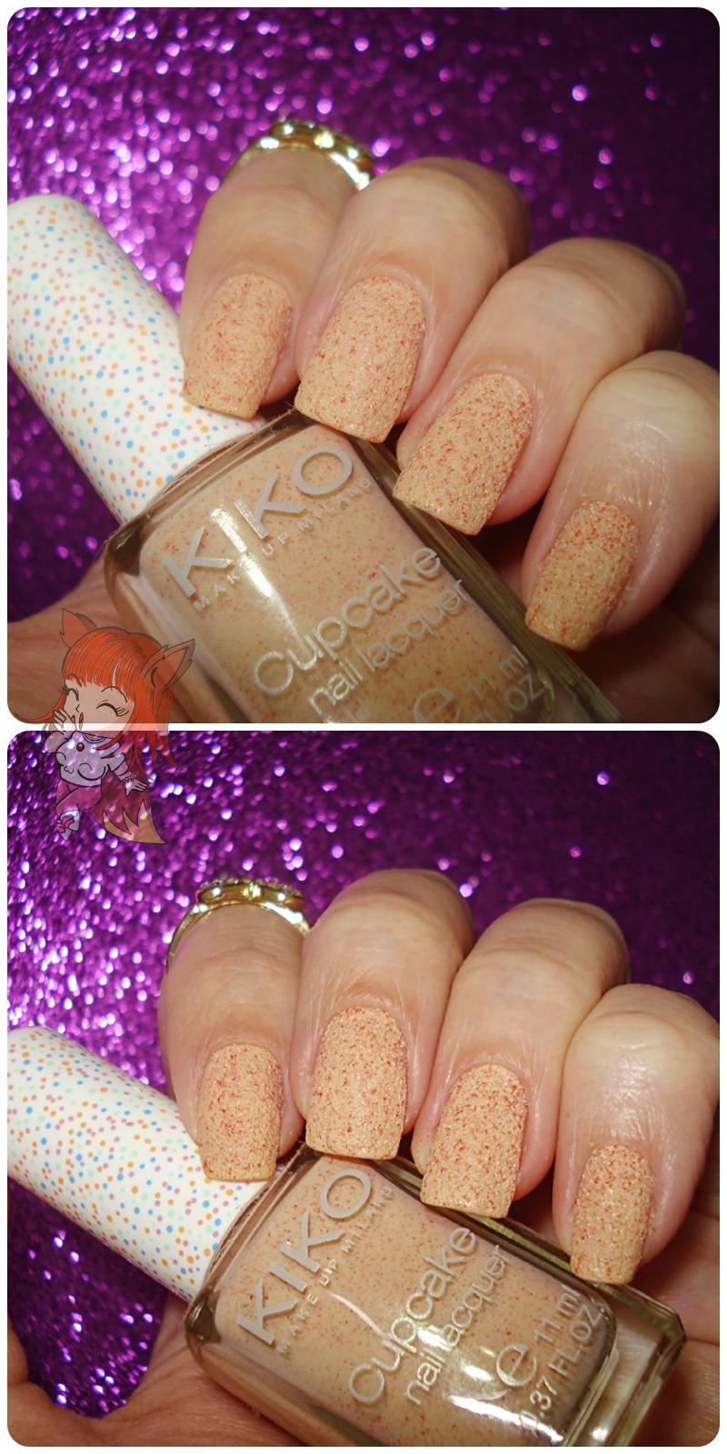 Esmalte Kiko Cupcake 649 Apricot - Resenha