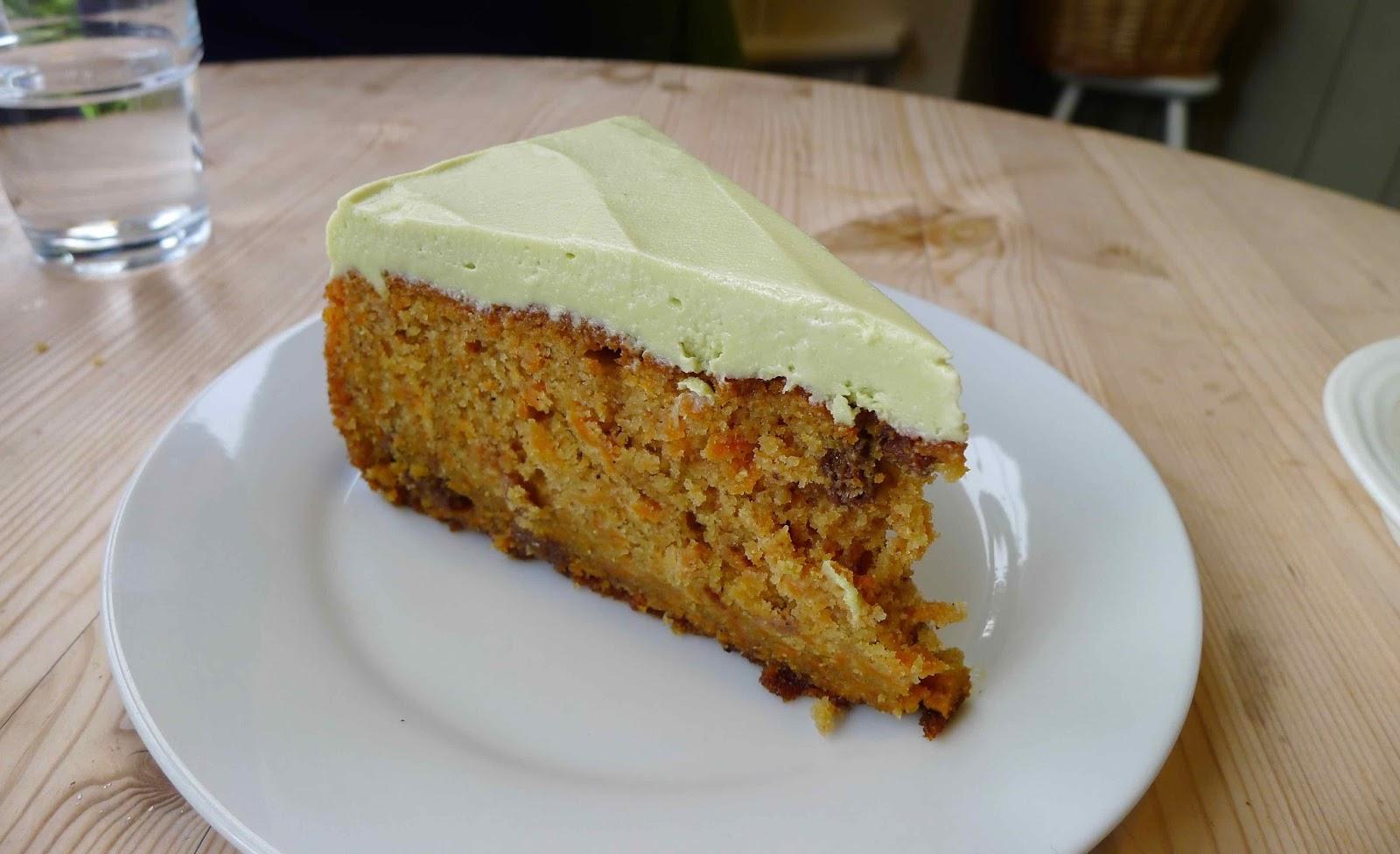 Savoury Spiced Carrot Cake