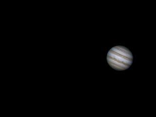 Jupiter in the Coachella Valley, CA night sky 2-4-16