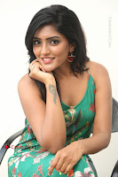 Actress Eesha Latest Pos in Green Floral Jumpsuit at Darshakudu Movie Teaser Launch .COM 0188.JPG