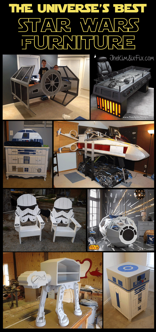 12 Awesome Star Wars Inspired Furniture Pieces The Kim Six Fix