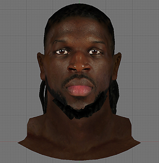 NBA 2K14 DeMarre Carroll Cyberface Mod