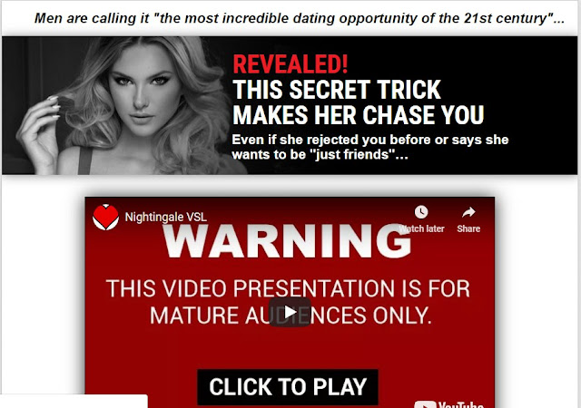 The Nightingale Method - Hot Dating Offer For Men