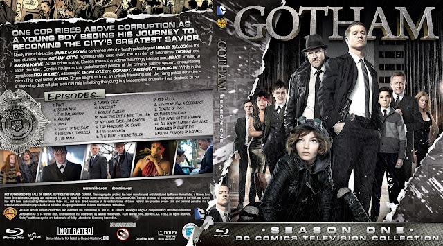 Capa Bluray Gotham Primeira Temporada