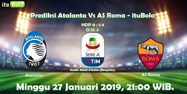 Prediksi Atalanta Vs AS Roma - ituBola