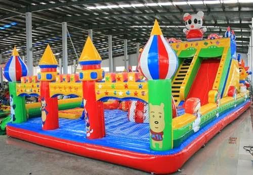 Balon dekorasi stok ready istana balon for Precio de piletas inflables
