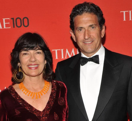 CNN host Christiane Amanpour divorcing husband after 20 years of marriage