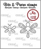 http://www.all4you-wilma.blogspot.com https://www.crealies.nl/nl/detail/2018119/bits-pieces-stempel-stamp-no-128-2x-libelle-2x-dragonfly.htm