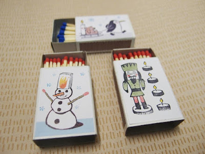 Illustrated Matchbox Set 2