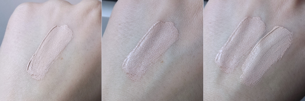 Makeup Revolution Conceal&Define C2 Full Coverage Conceal and Contour swatch blog