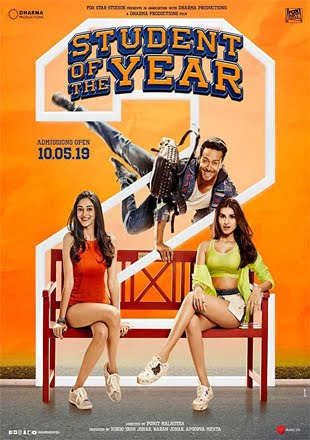 Student of the Year 2 2019 Full Hindi Movie Download HQ DVDScr 720p