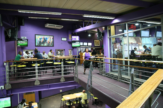 Hollywoodbets Springfield Park, Durban - Upstairs Restaurant and Betting Area