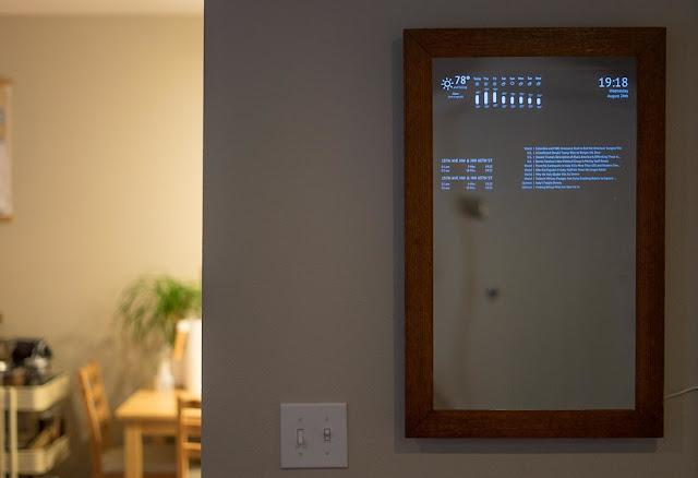 Il mio primo Smart Mirror ! Come creare uno specchio Smart!