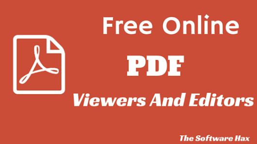 Top 5 Free Online PDF Editor and Viewer