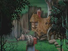 Sleeping Beauty (1959) artwork by Eyvind Earle