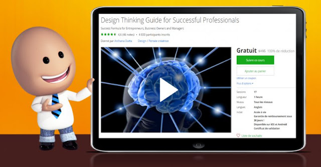 [100% Off] Design Thinking Guide for Successful Professionals| Worth 195$