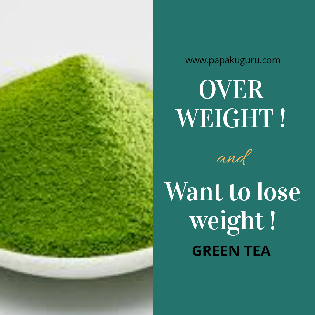 how green tea can helps you lose weight naturally - papaku guru