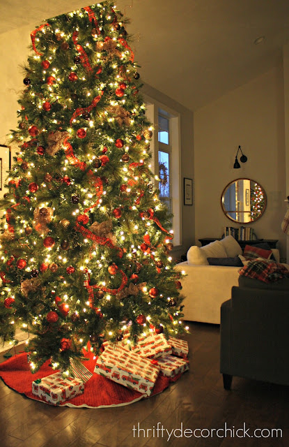 Tips for decorating a tree