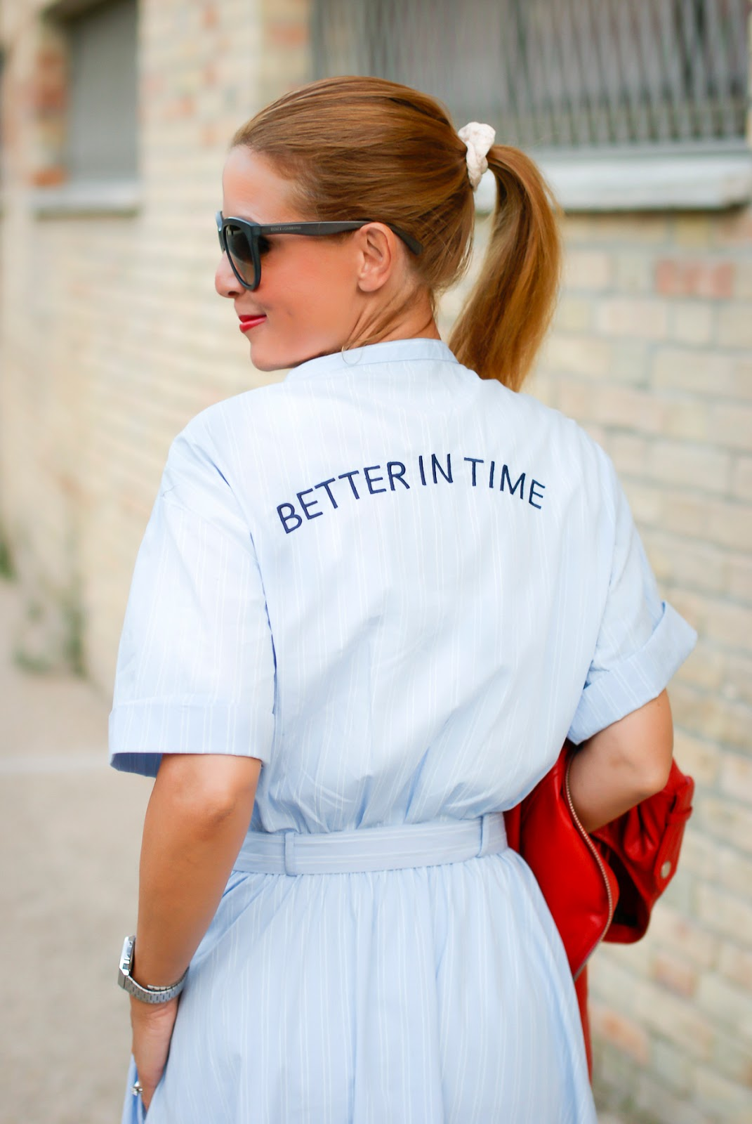 Better in time dress from Zara on Fashion and Cookies fashion blog, fashion blogger style