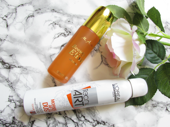 review: M.Asam - Beauty Elixir Orange & L´Oréal Professional - Tecni Art Morning After Dust Dry Shampoo