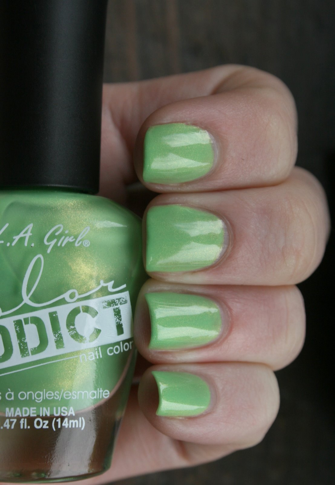 LA Girl Addict - Urge Swatch