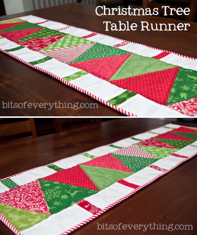 Christmas Tree Table Runner Quilt Pattern: Christmas Gift: For Mother In Law