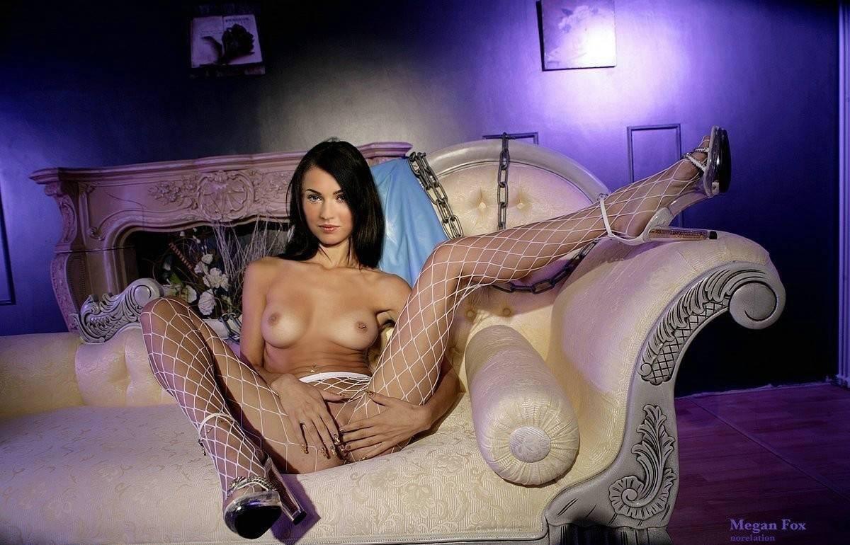 Megan Fox Rubbing Pussy