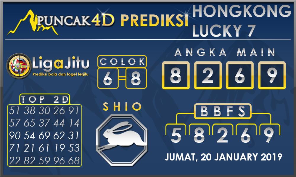 PREDIKSI TOGEL HONGKONG LUCKY7 PUNCAK4D 20 DESEMBER 2019