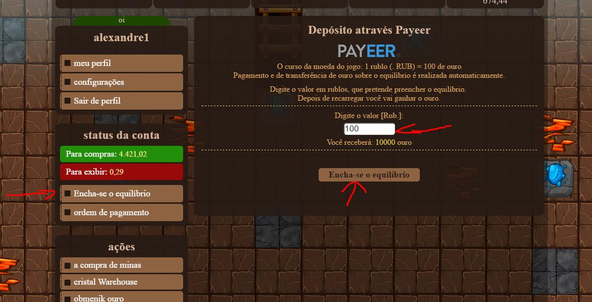 [Testar] Miner-Minerals.ru - Jogo de Mineração! Screenshot_6