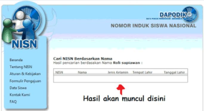 Cara Cek NISN Siswa (Nomor Induk Siswa Nasional)