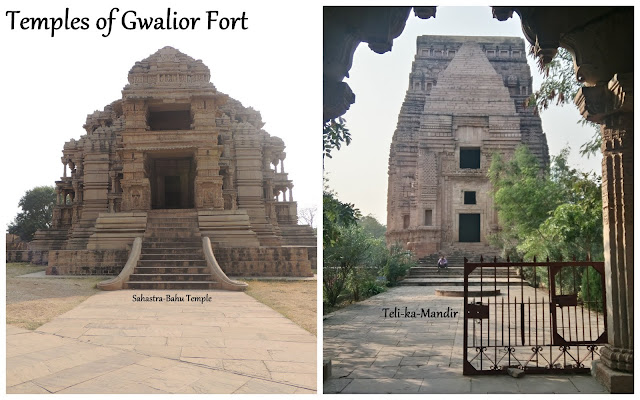 Gwalior Part 4: The Temples of Gwalior Fort