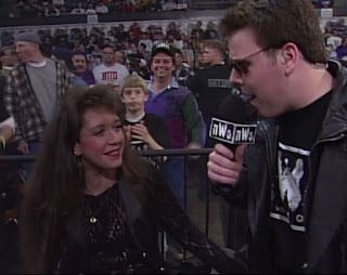 WCW NWO Souled Out 1997 Review - Jeff Katz interviews a Miss nWo Contestant