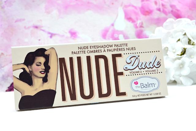 The Balm Nude Dude Volume 2 Lidschattenpalette | komplett