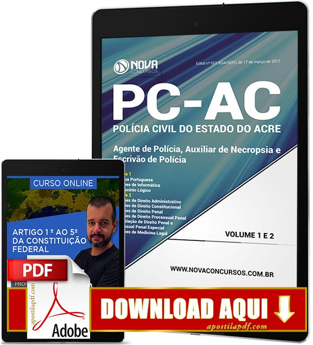 Apostila PC AC 2017 PDF Download Auxiliar de Necropsia