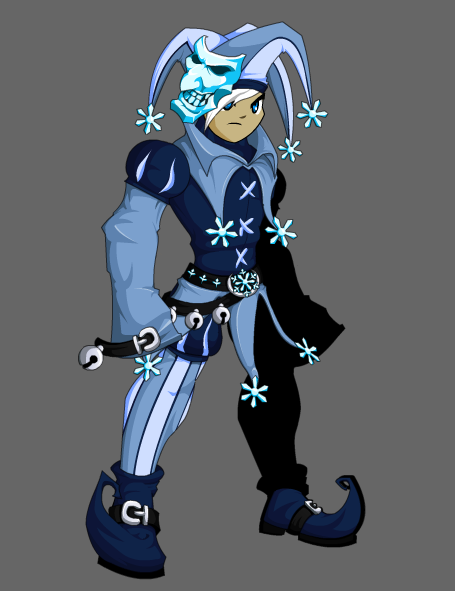 AQW Daily: Ice Jester + Ice Symbiote test
