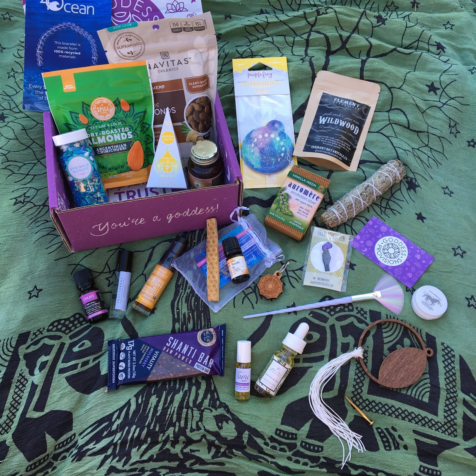 Hawks And Honey: Goddess Provisions Mystery Box Review