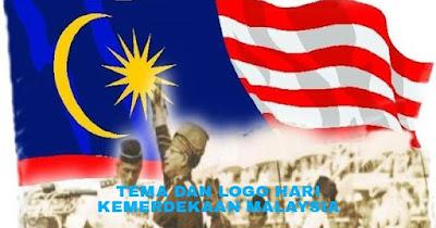 Tema dan Gambar Logo Hari Kemerdekaan Malaysia Tahun 2018