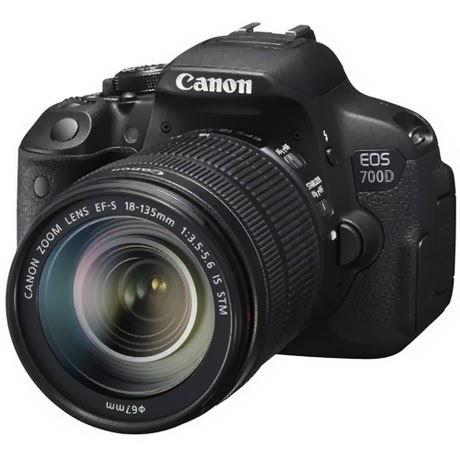 Canon EOS 700D / Rebel T5i DSLR Camera