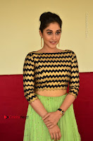 Actress Regina Candra Latest Pos in Green Long Skirt at Nakshatram Movie Teaser Launch  0114.JPG