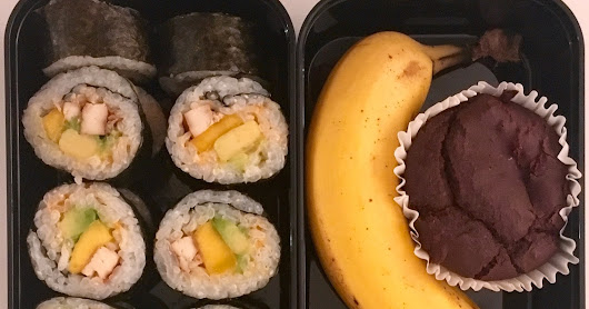 The Mango in the Sushi - My first bento