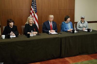 Trump invites four of Bill Clinton 'sex victims' to the debate